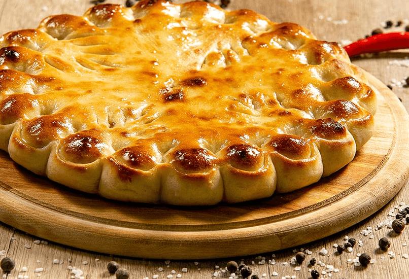 Пасхальный пирог с мясом