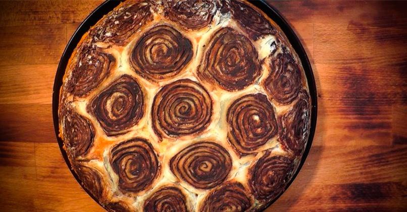 Шоколадный пирог Черепашка