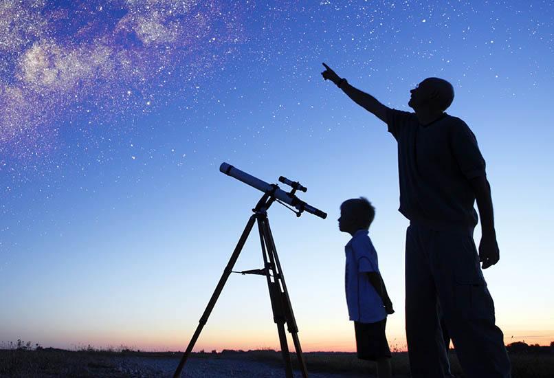Детский телескоп – отличный вариант подарка