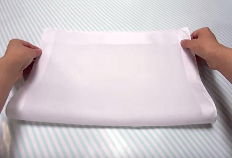 Сложенная пополам ткань