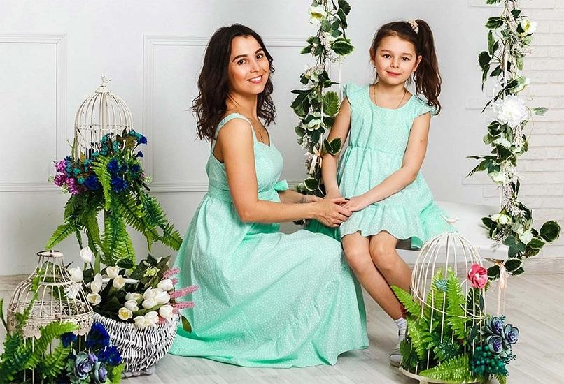 Комплект одежды мама+дочка
