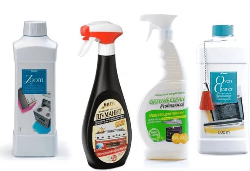 Специальные средства для чистки кухонной техники