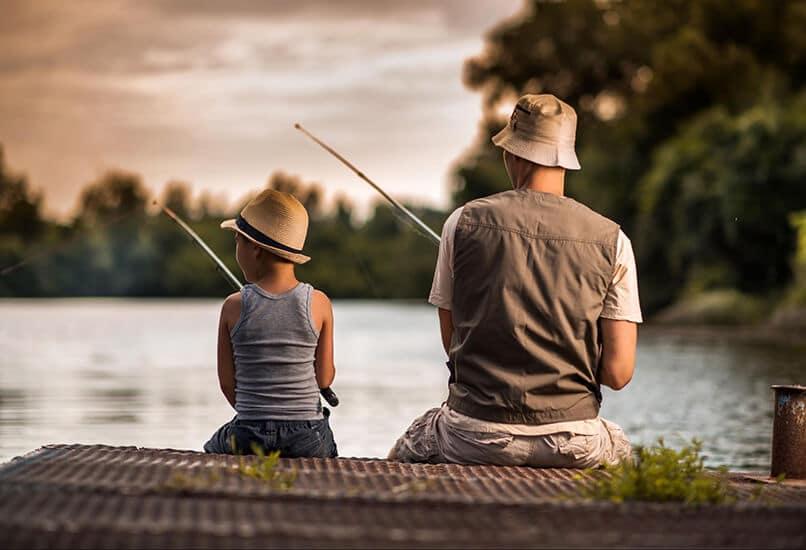 Рыбалка – настоящее мужское увлечение