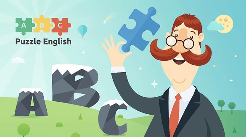 Сервис Puzzle English