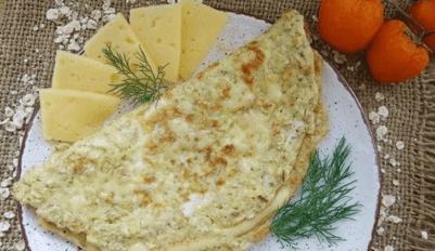 Овсяноблин с сыром
