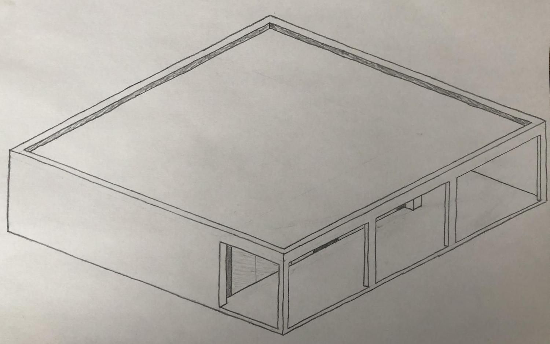 Макет дизайна склада