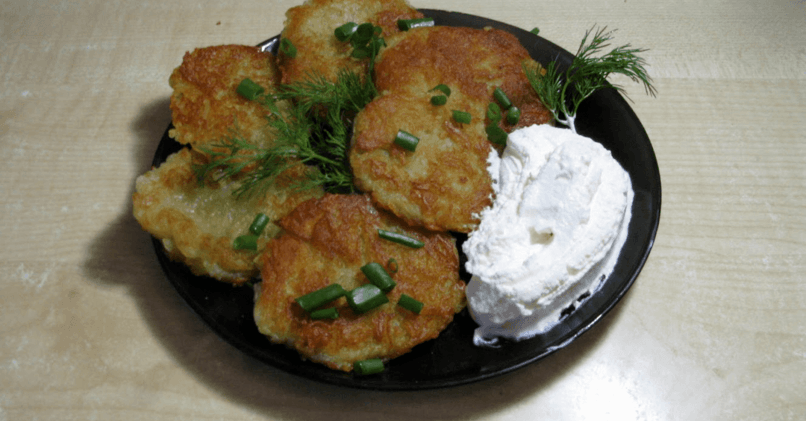 Драники картофельные – классический рецепт