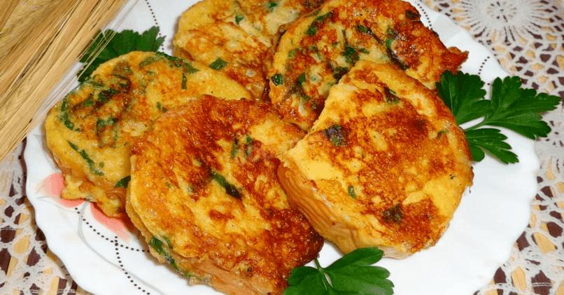 Хрустящие гренки с сыром