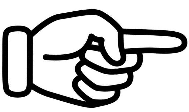указательный палец поможет запомнить указательные местоимения