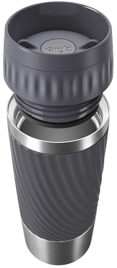 Emsa Travel Mug Easy Twist Graphite