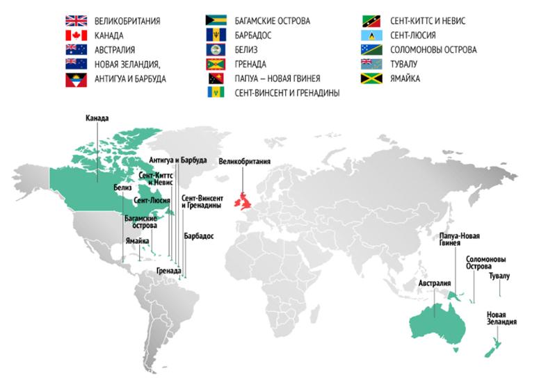 Страны Содружества наций