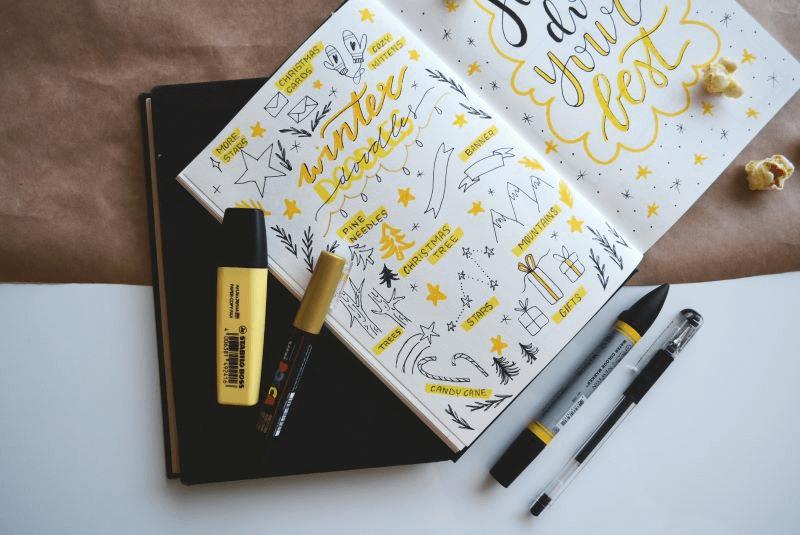 Ежедневник Bullet Journal