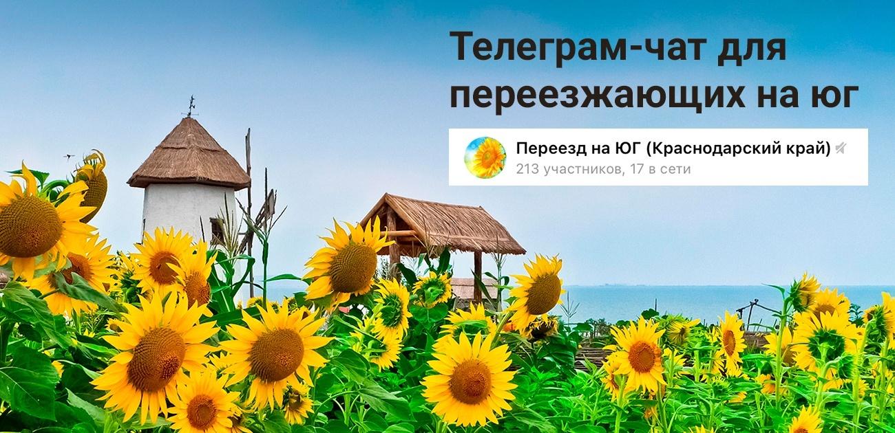 Чат Переезд на юг Краснодарский край