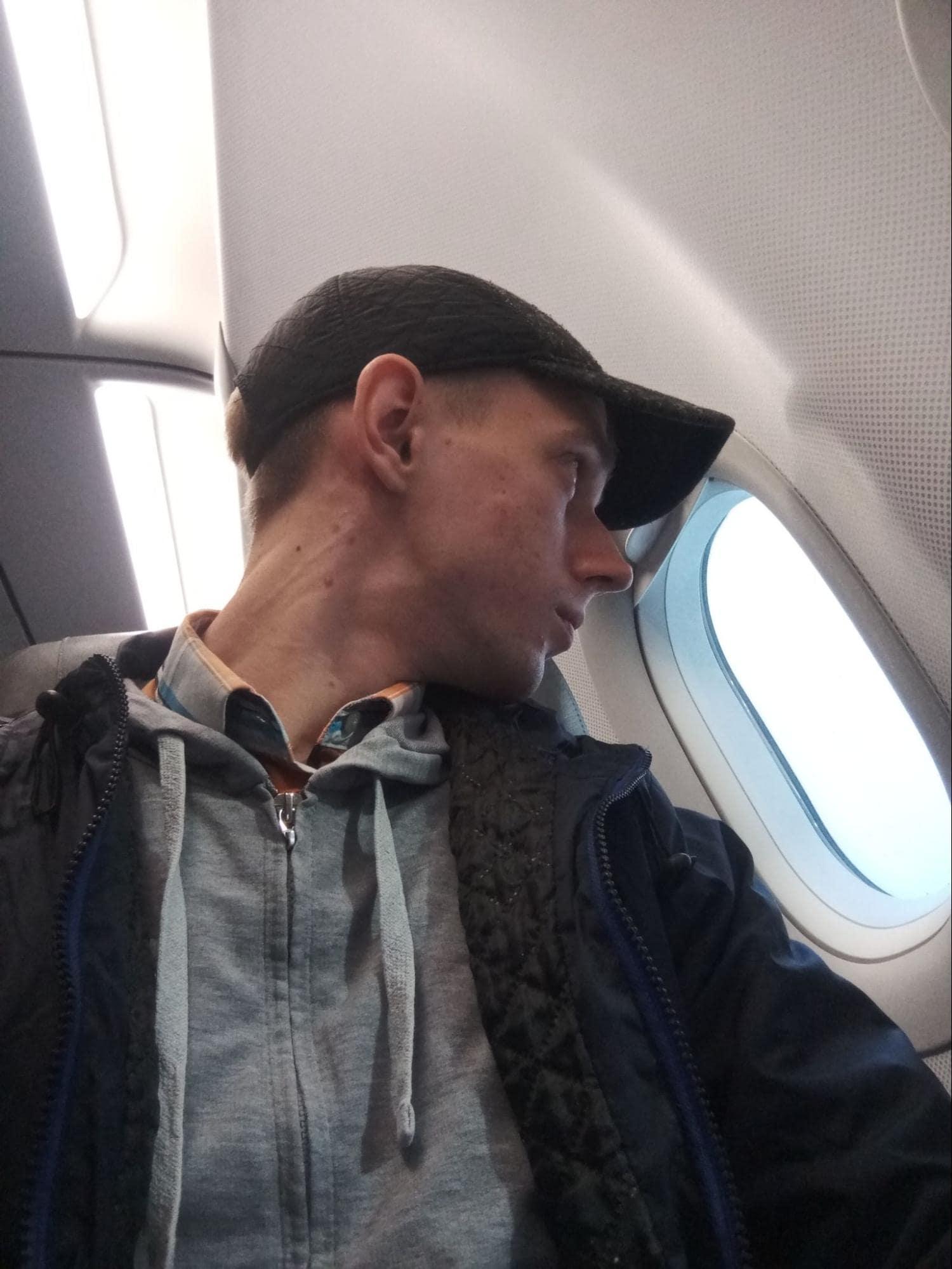Сижу в самолете Люфтханзы